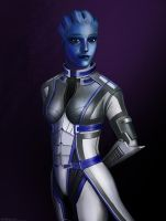 Liara T'Soni by RobbieMcSweeney