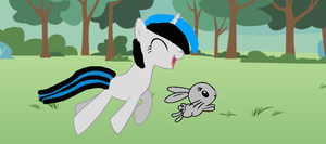 Inma The filly and Gladys by BlackStar2442