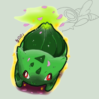 Shiny Bulbasaur by Kureeru