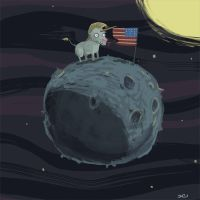 flag_on_the_moon by ZheSyt