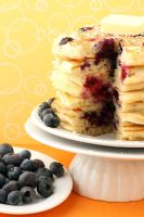 Blueberry Pancakes by bittykate