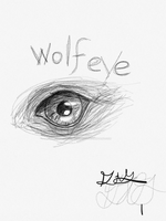 wolf eye by divergentmockingjay