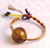Brown Sugar Bracelet by Pikithins