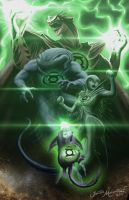 My Green Lantern Heroes by Jujusaurus