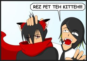 REZ PET TEH KITTEH by McHuggies