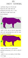 MS Paint Transparency Tutorial by RedRum-love