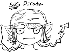 Srs Pirate. by LoveOverdose