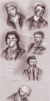 Some Supernatural Characters by MrsEmmyJ