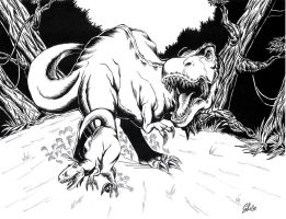 T-Rex Inked by giulal