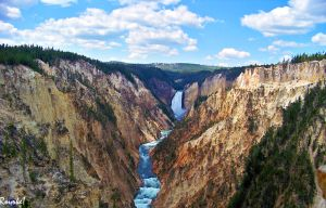 Lower Falls Yellowstone 2 by AMLensCreations