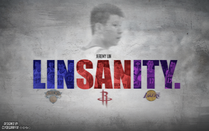 Jeremy Lin 'Linsanity' | Wallpaper by ClydeGraffix