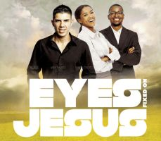 Eyes Fixed on Jesus Church Flyer and CD Template by loswl