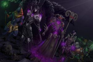 Smite contest entry: The underworld by KatZina