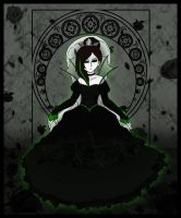 .:- Queen of Black Roses -:. by Dorchette