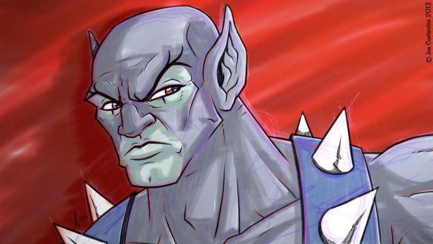 Panthro Sketch by JoeCostantini