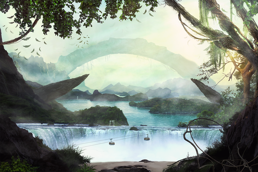Waterfall by stgspi