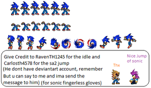 Sonic Custom Moves by Raventh1245