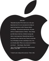 Black Apple: Steve Jobs by chibifoxagent