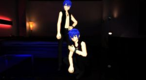 MMD Black Shirt Kaito Download by Bloodobsessed