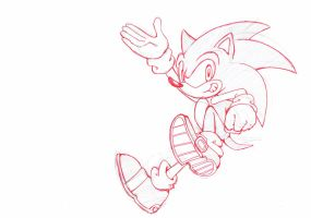Sonic Sketch by Psychograve