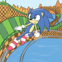 .:Green Hill Zone: WIP:. by Volmise