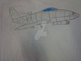 Me 262 Schwable (Unifinished) by COLT731