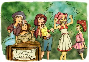 Inazuma Scouts: Girls by Card-Queen