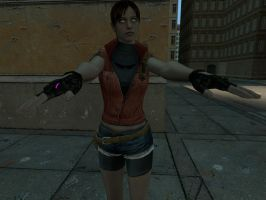 All Girl Hypno: RE2 Claire by VG-MC