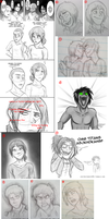Snk Sketchdump 2 by JustAutumn