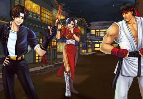 street fighter forever by jiuge