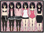 [Export Pack] Brianna Archibald by lil-devillia