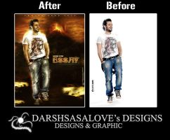 Essaf Before and After by DARSHSASALOVE