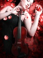 The red violin by DarkVenusPersephonae