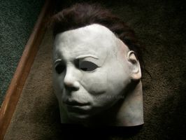 My new Michael Myers mask by DeeMelino