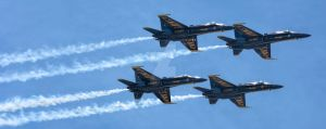 Blue Angels - Annapolis 2015 (2) by maxlake2