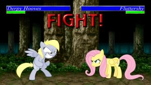 Pony Kombat Tournament Round 1, Battle 2 by Macgrubor