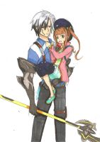 Ludger and Elle ToX2 by ClaireRoses