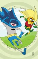 Adventure Time - Batman Mash Up by Dave-Acosta