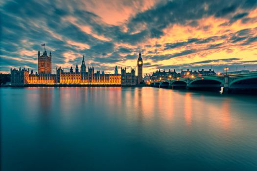 Houses of Parliament, London by hessbeck-fotografix
