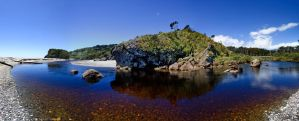 Shipwreck Creek Pano by Immerse-photography