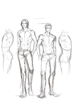 SPN exercise sketch1 by Lanlimes