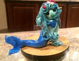 Muppet Type Mermaid- In clay by BumbleBumbly