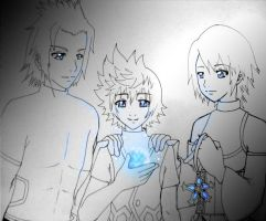 KH:BBS - Blue Light by Destiny-XIII
