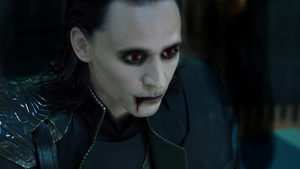 Loki the Vampire by kittykolorz