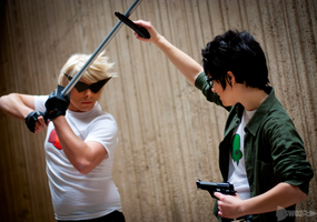 Jake and Dirk Homestuck Cosplay by Swoz