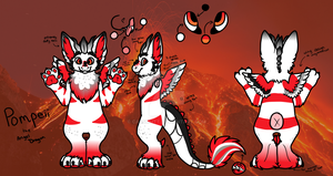 [COMMISSION] Pompeii Reference Sheet by CassMutt