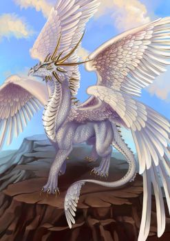 White Dragon by Saarl