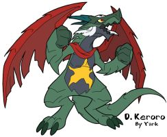 Fanart- Dragon Dark Keroro by Yark-Wark