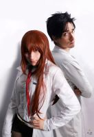 Steins Gate - The Mad Couple by Tri-Heart