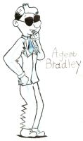 Agent Bradley Character sketch by Nate-Spidgewood